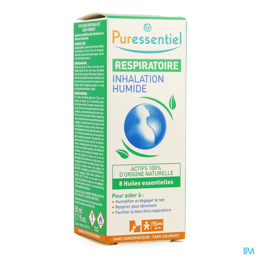 Puressentiel Respitatoire Inhalation 50ml