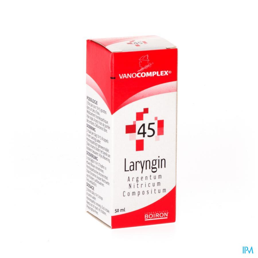 Vanocomplex N45 Laryngin Gutt 50ml Unda