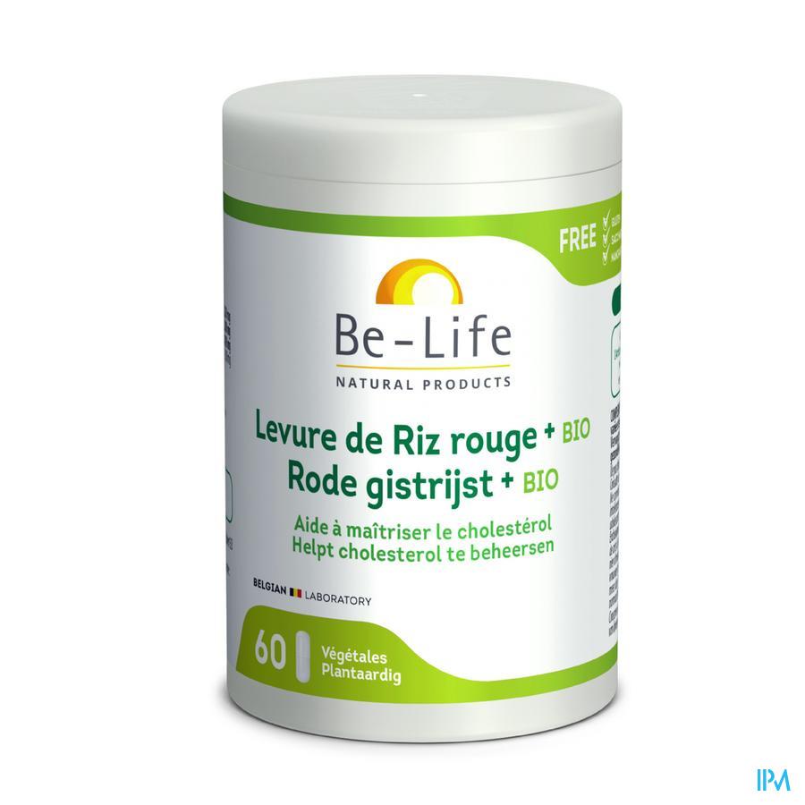 Gist Rode Rijst Bio Be Life Caps 60
