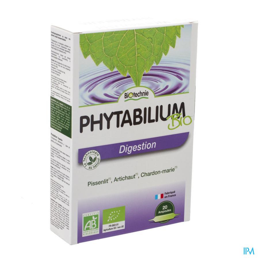 Phytabilium Bio Amp 20x10ml Biotechnie