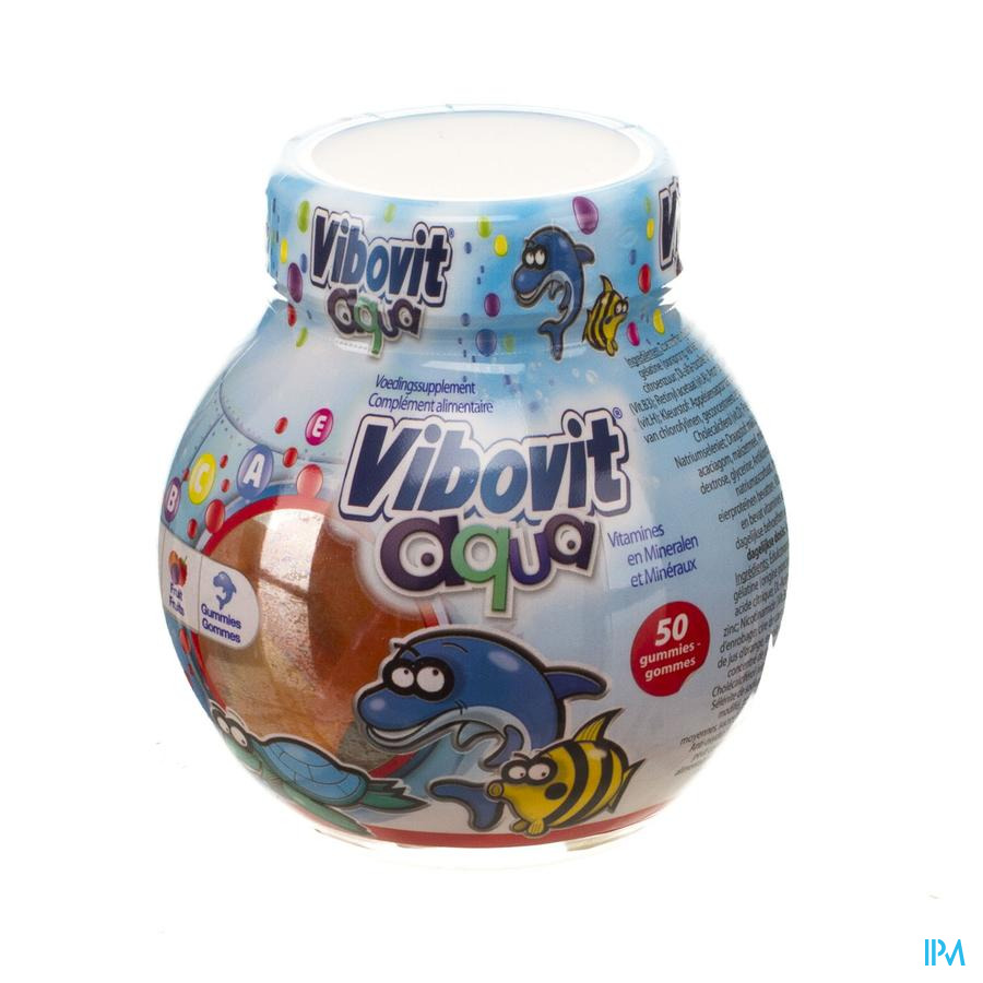 Vibovit Junior 4+ Aqua Gummies 50