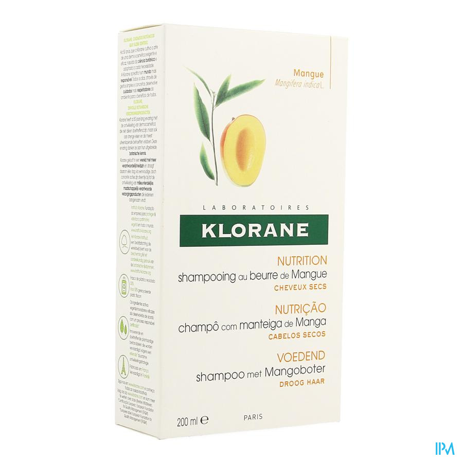 Klorane Capil. Sh Mangue Nf 200ml