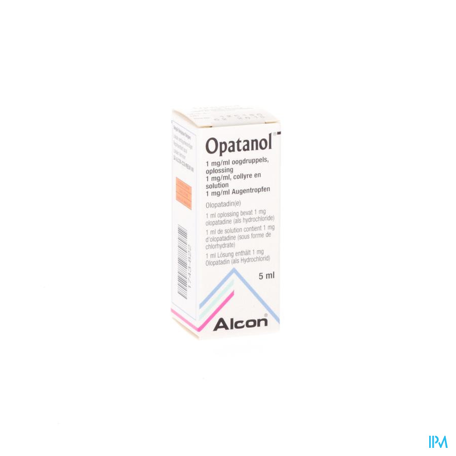 Opatanol Collyre 1x5ml 1mg/ml