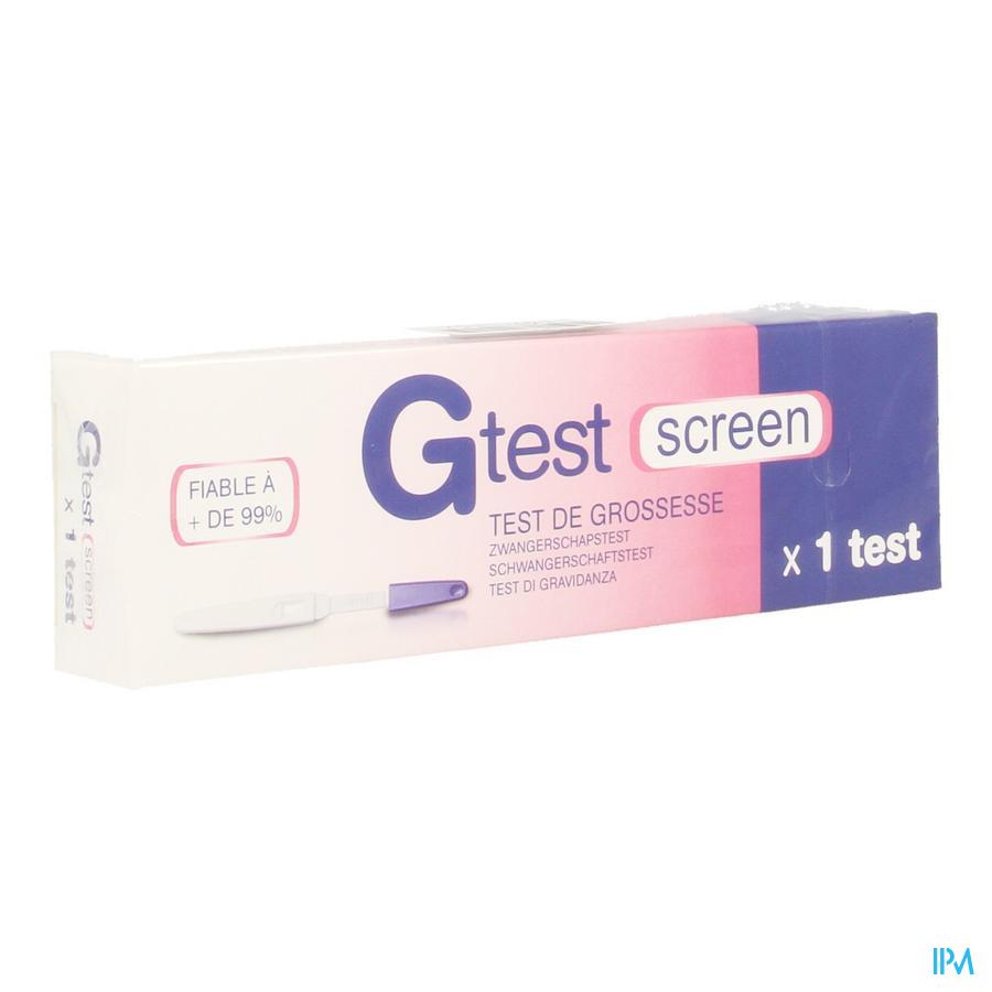 g-test Zwangerschapstest