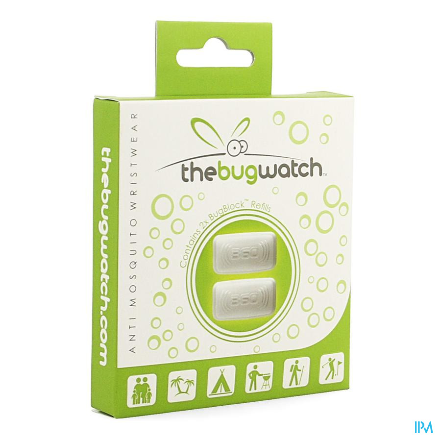 The Bug Watch Bugblock Refills 2 Cld