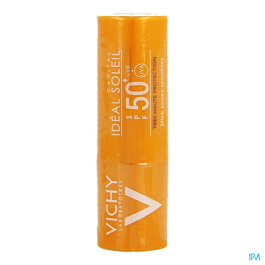 Vichy Cap Sol Ip50+ Stick Gev Zones 9g