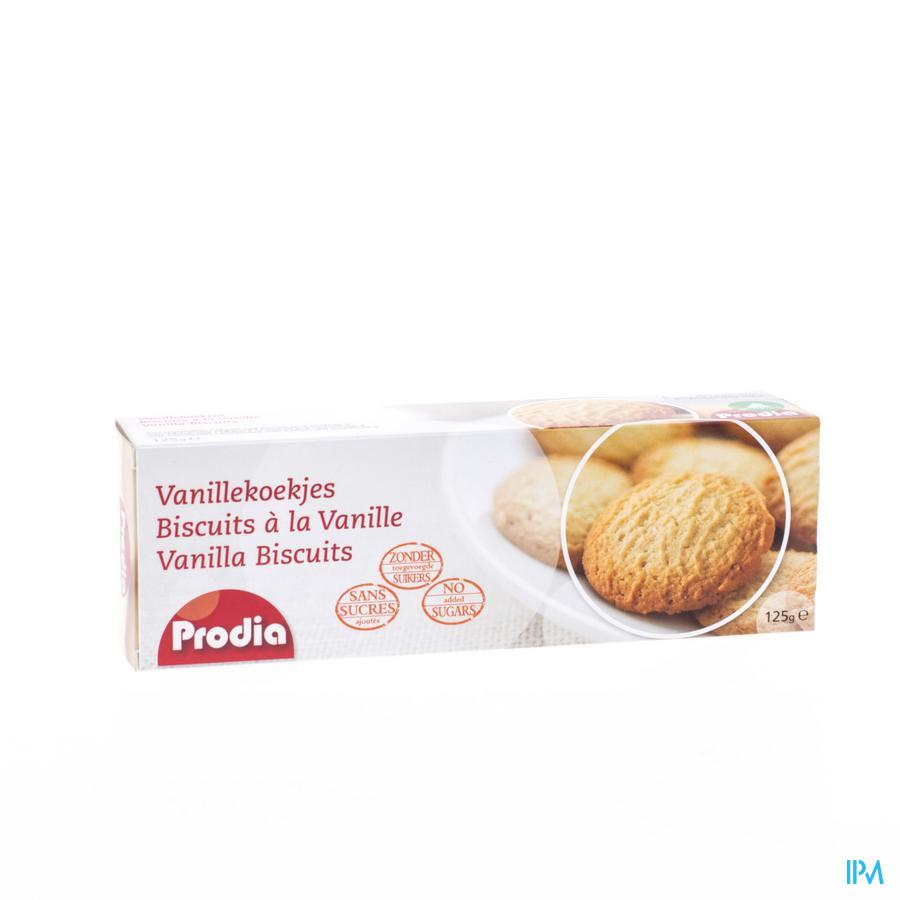 Prodia Vanillekoekje + Zoetstof 125g 6266