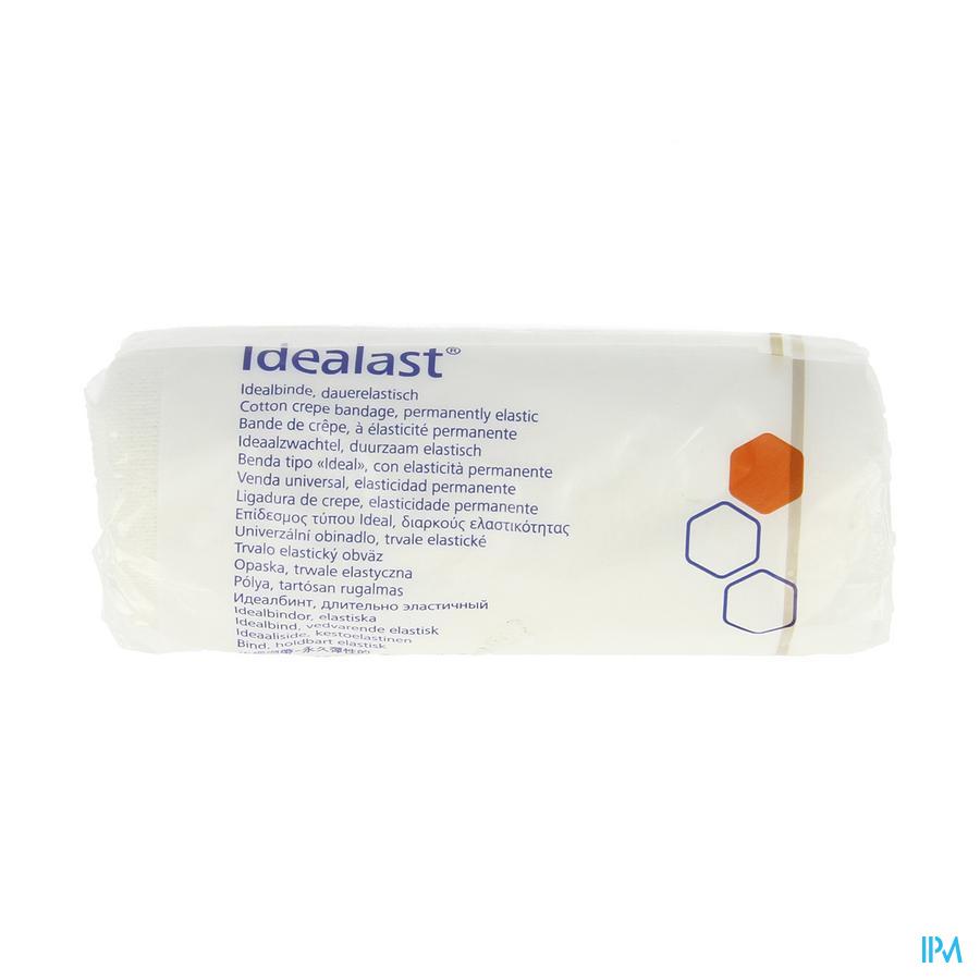 Idealast Z. Haak 12cmx5m Wit 1 P/s
