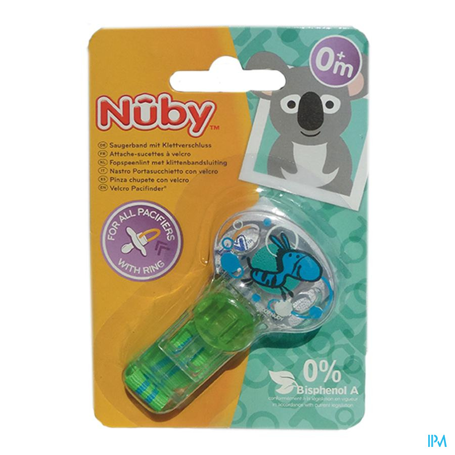 Nûby Attache-sucette Velcro Pacifinder®