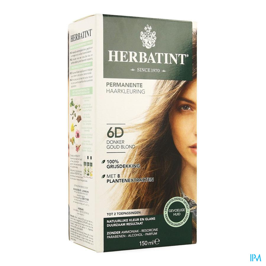 Herbatint Blond Fonce Dore 6d