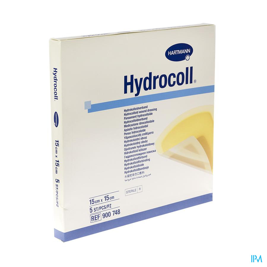 Hydrocoll Ster 15x15cm 5 9007482