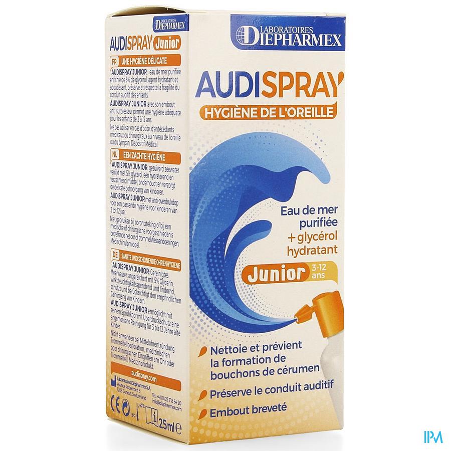 Audispray Junior Eau De Mer + Glycerol 25ml