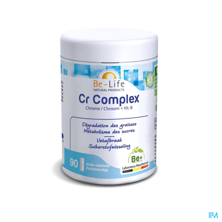Cr Complex Minerals Be Life Gel 90
