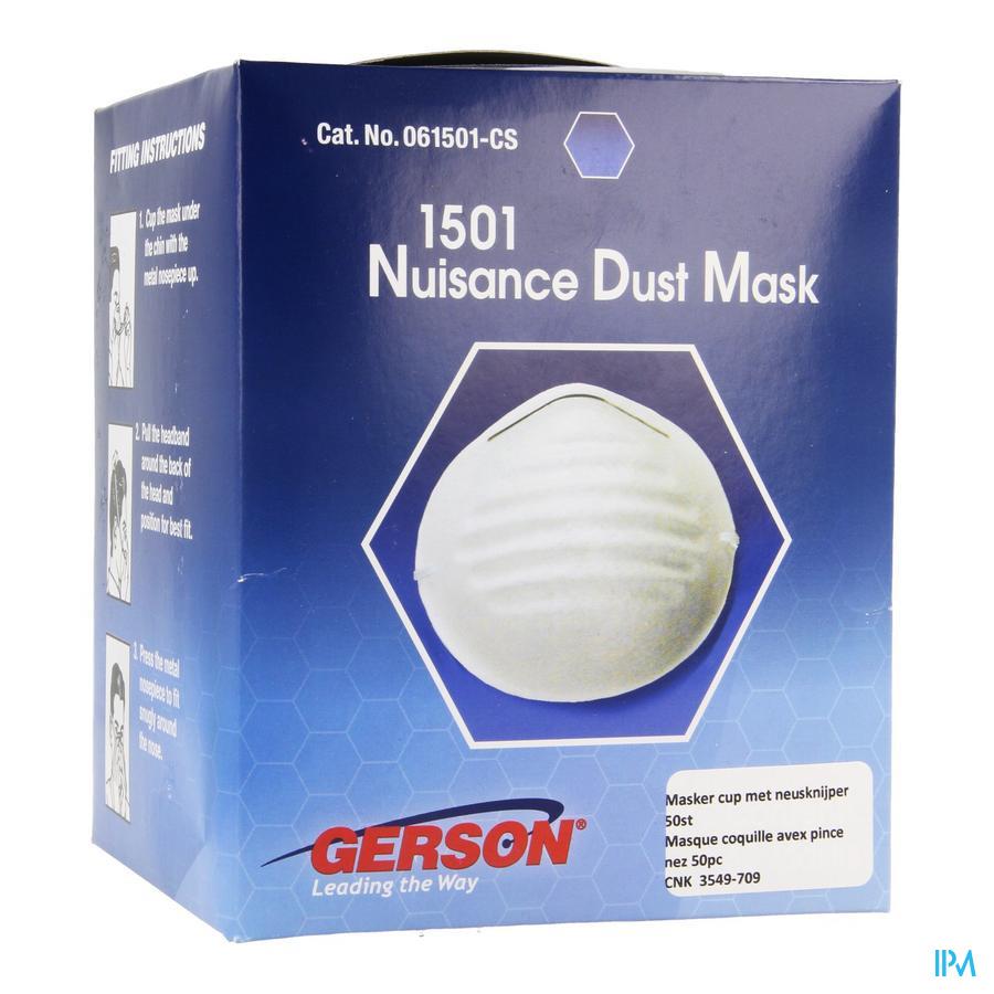 Masker Cup Neusknijper 50
