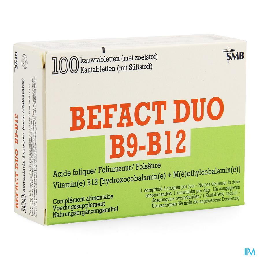 Befact Duo Comp A Croquer 100