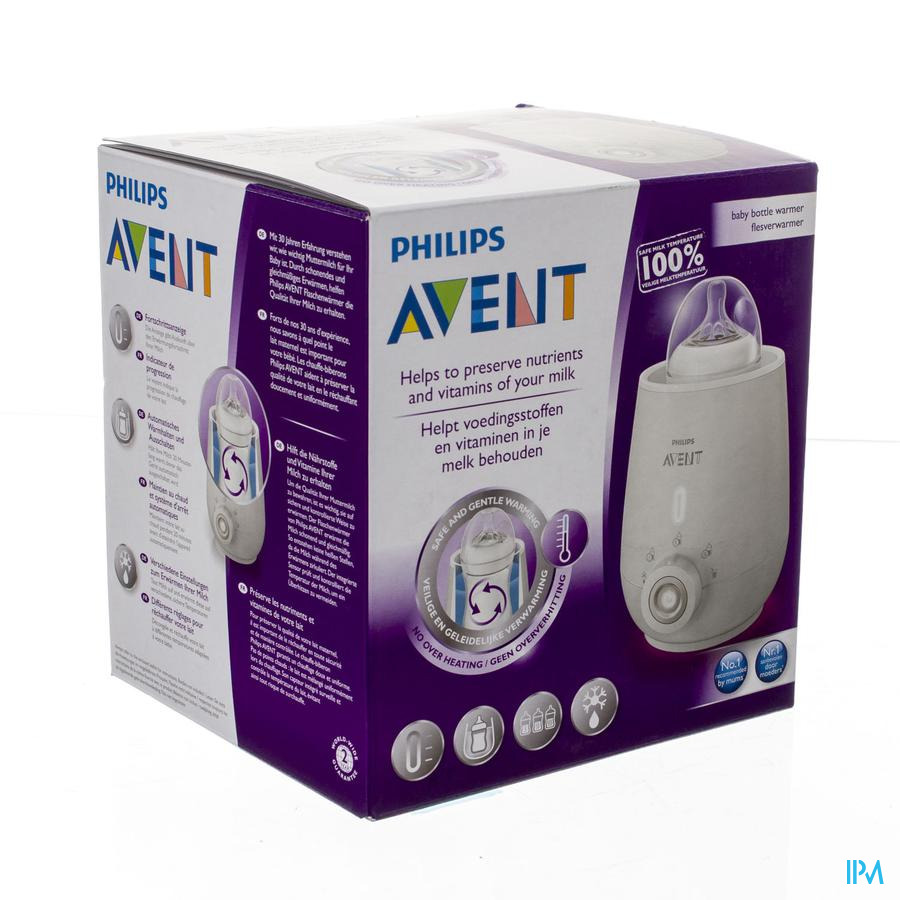 Avent Flesverwarmer High End