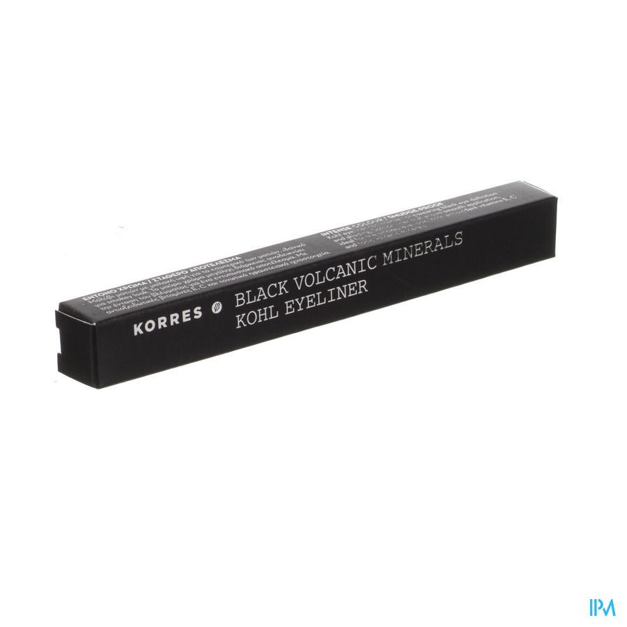 Korres Km Pencil Kohl Mineral Black