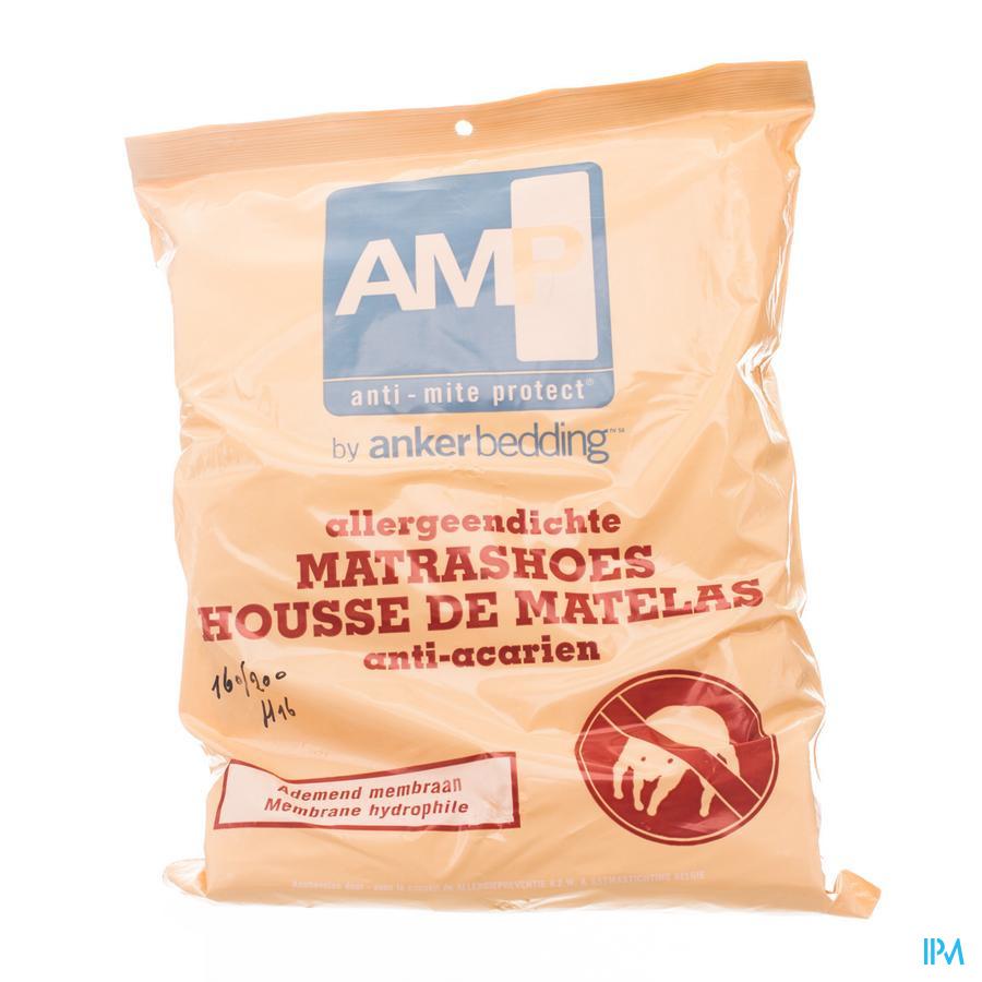 Amp Housse Anti Acarien 160x200x16cm