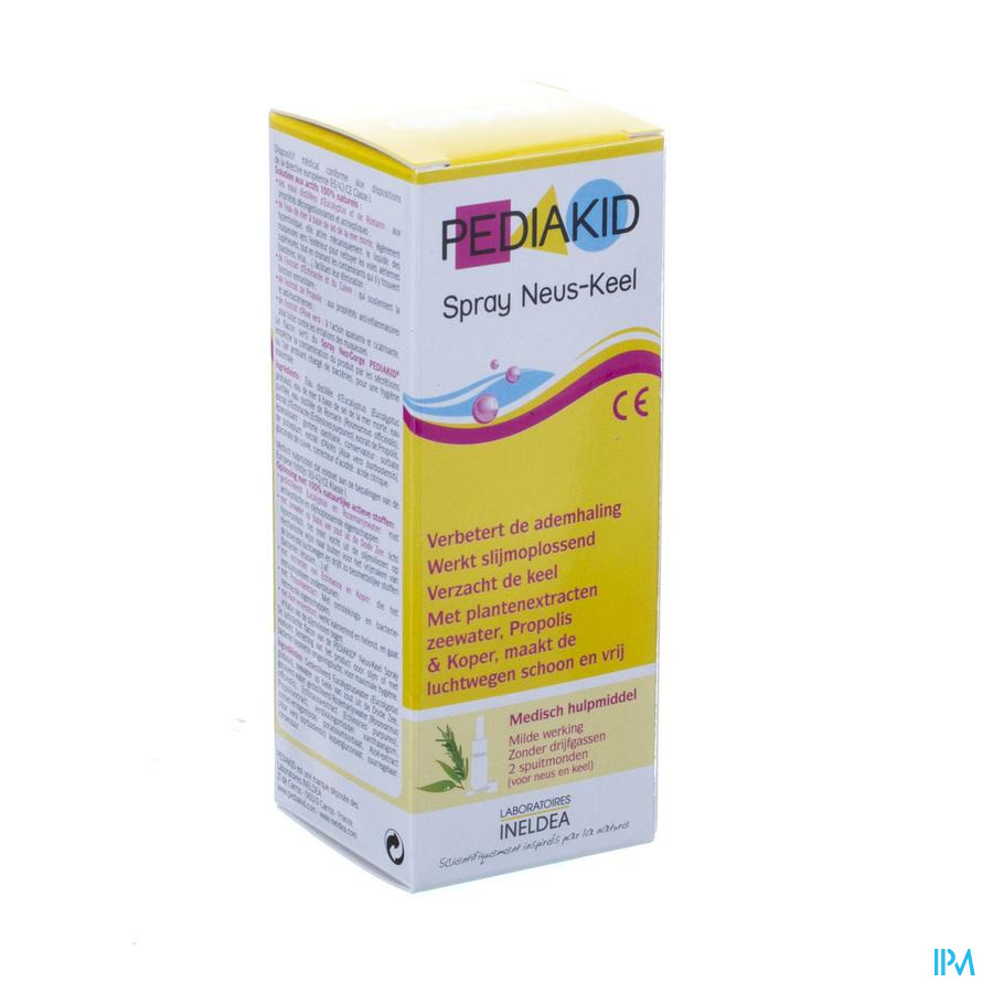 Pediakid Spray Nez-gorge Fl 20ml