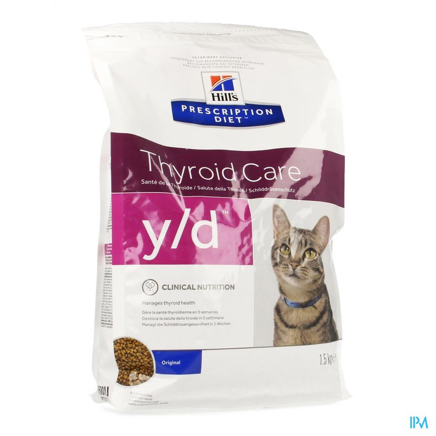 Hills Prescrip.diet Feline Yd 1,5kg 1680m