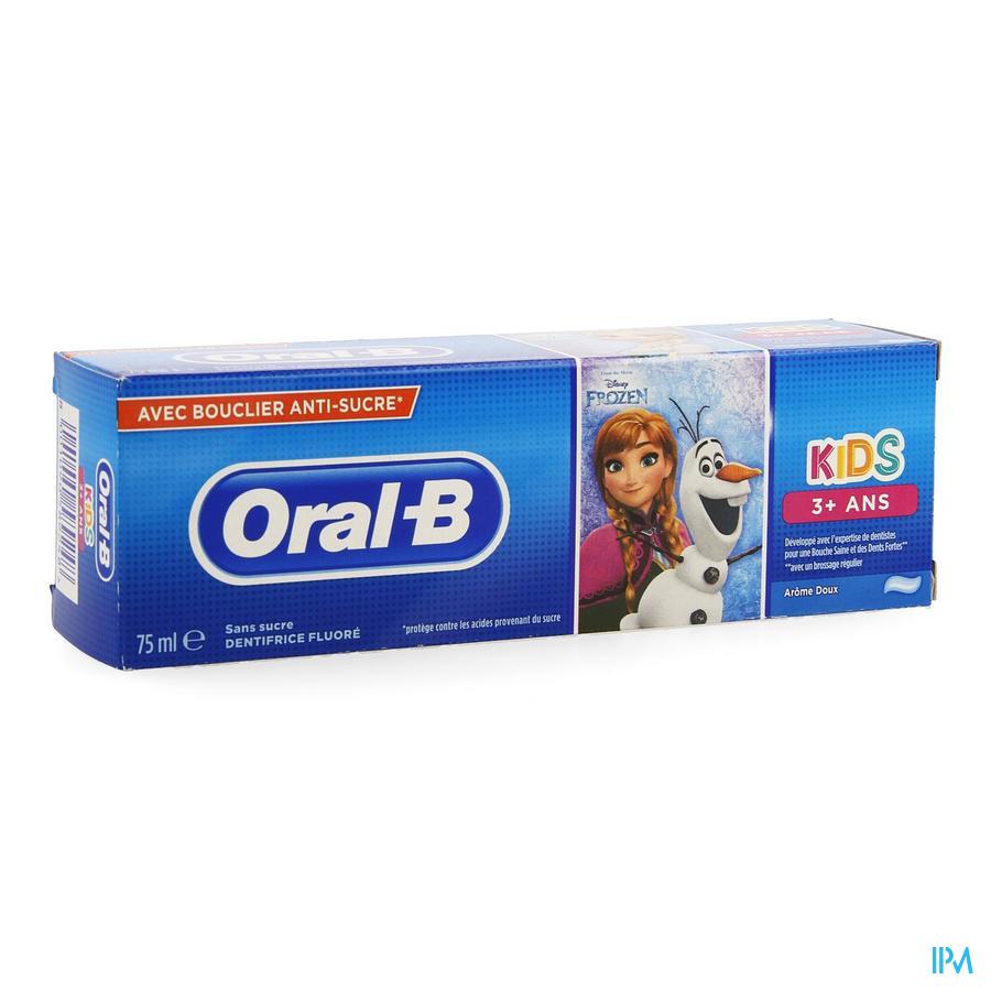 Oral B Dentifrice Enfants +3ans 75ml