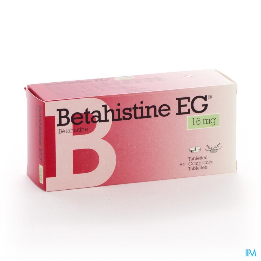 Betahistine Eg Comp 84 X 16mg