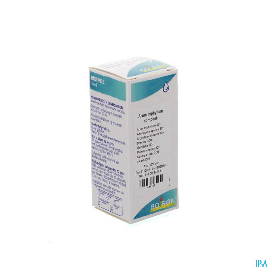 Arum Triphyl.complex Gouttes 30 ml  -  Boiron