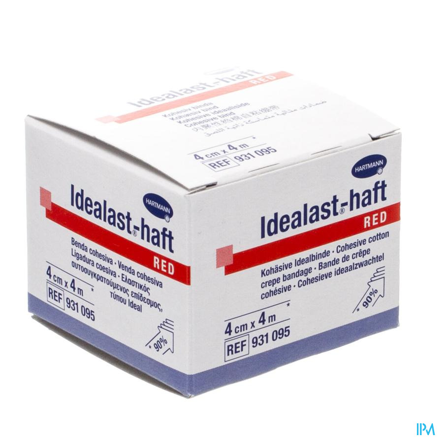 Idealast-haft Rood 4cmx4m 1 9310950