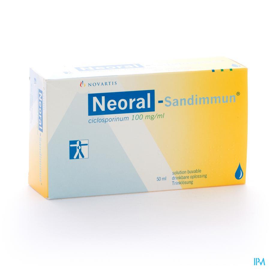 Neoral Sandimmun Sol Per Os 50ml