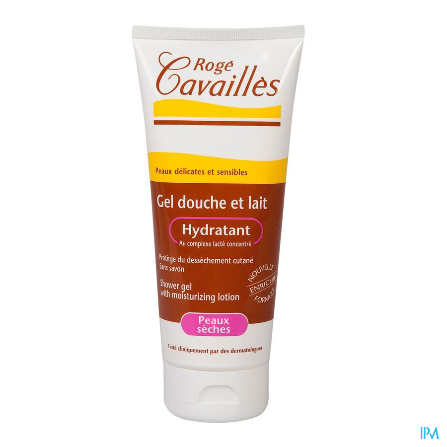 Roge Cavailles Douchemelk Hydraterend 200ml