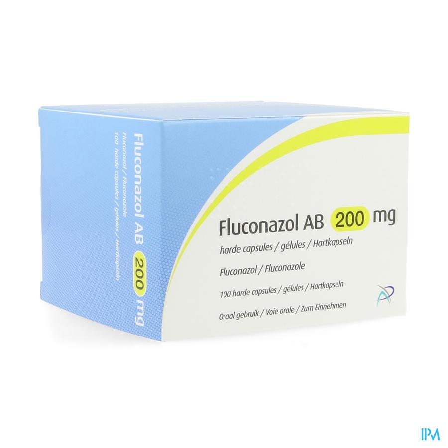 Fluconazol Ab 200mg Harde Caps 100