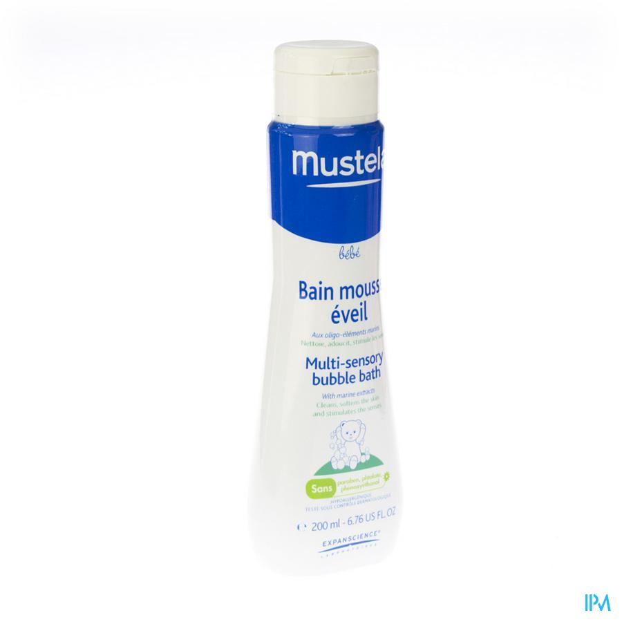 Mustela Pn Bain Mousse Eveil Nf 200ml