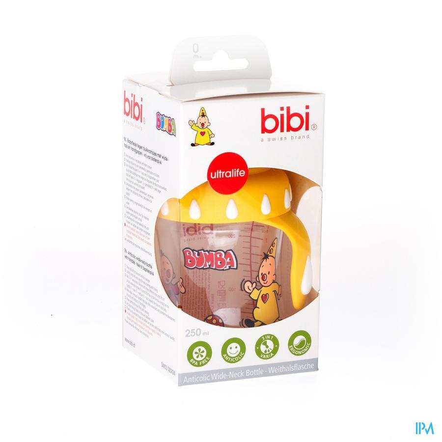 BIBI ZUIGFLES WN BUMBA 250ML 0% BPA