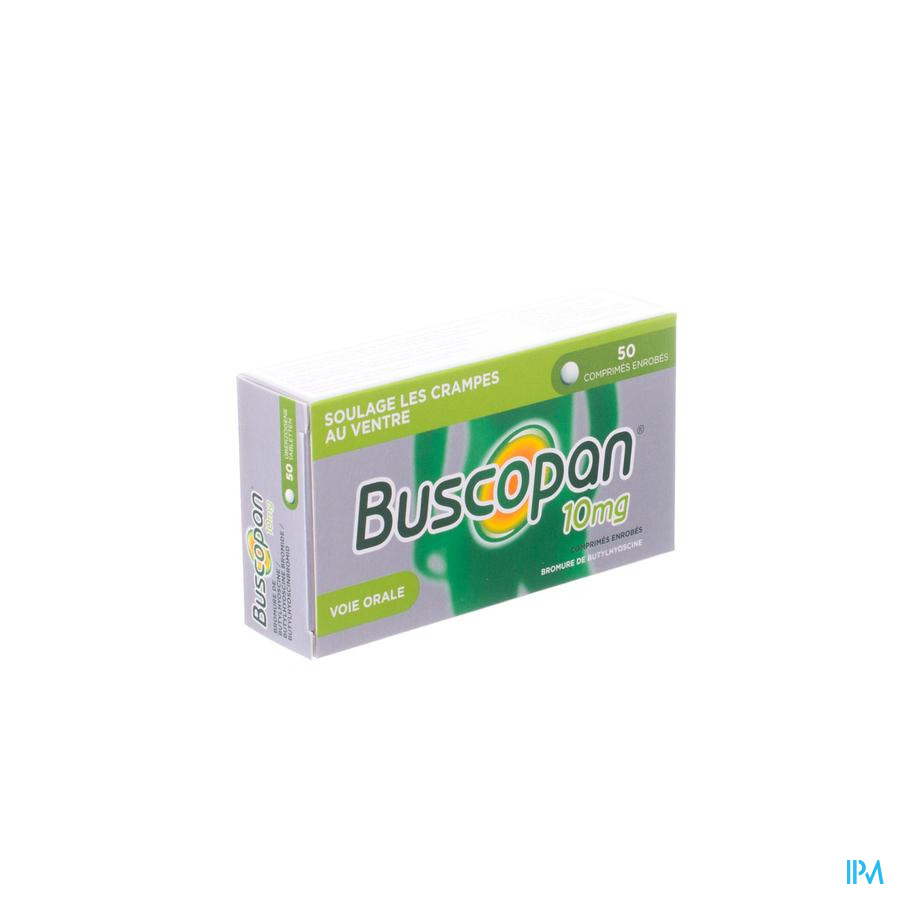 Buscopan Drag 50 X 10mg