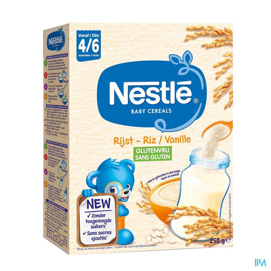 Nestle Baby Cereals Rijst Vanille Glutenvrij 250g