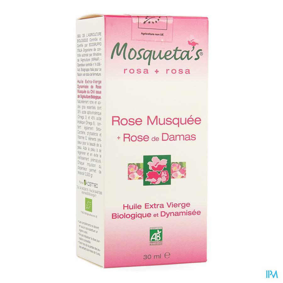 Mosquetas Rose Huile De Rose Bio 30ml