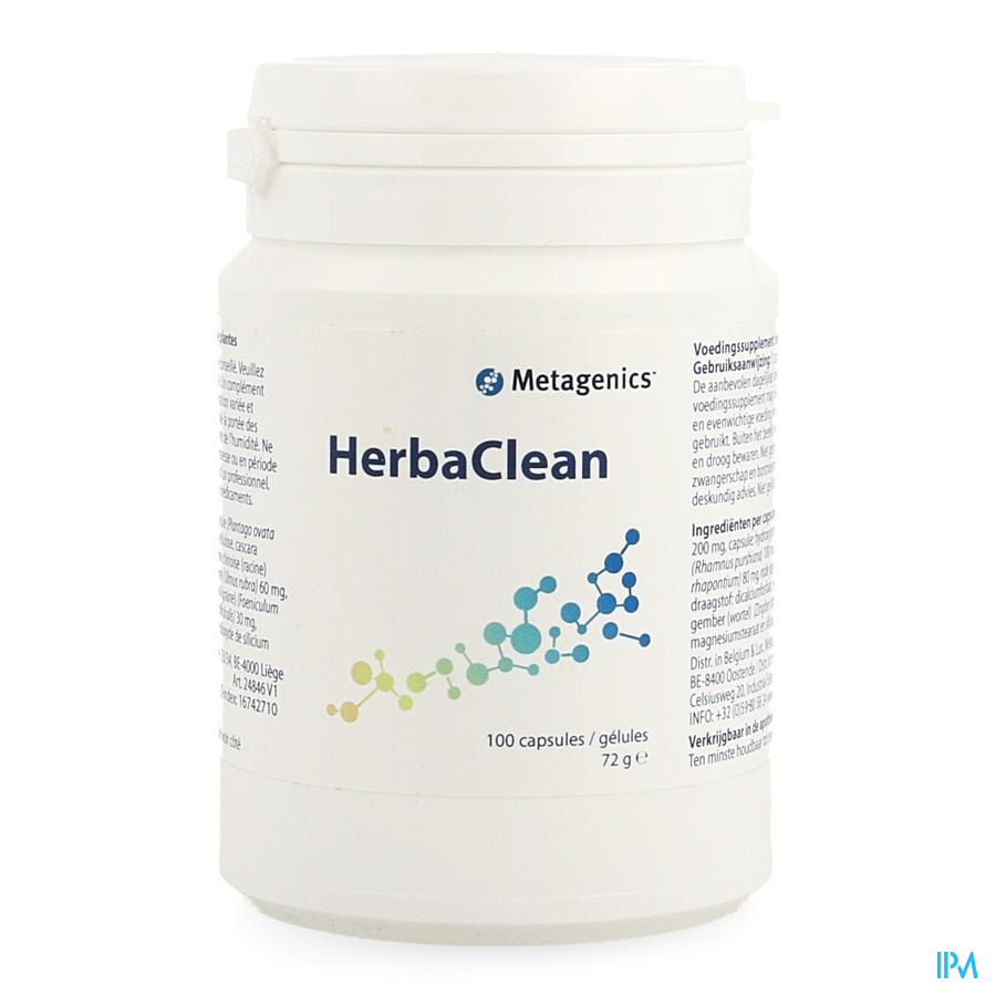 Herbaclean Nf Caps 100 24846 Metagenics
