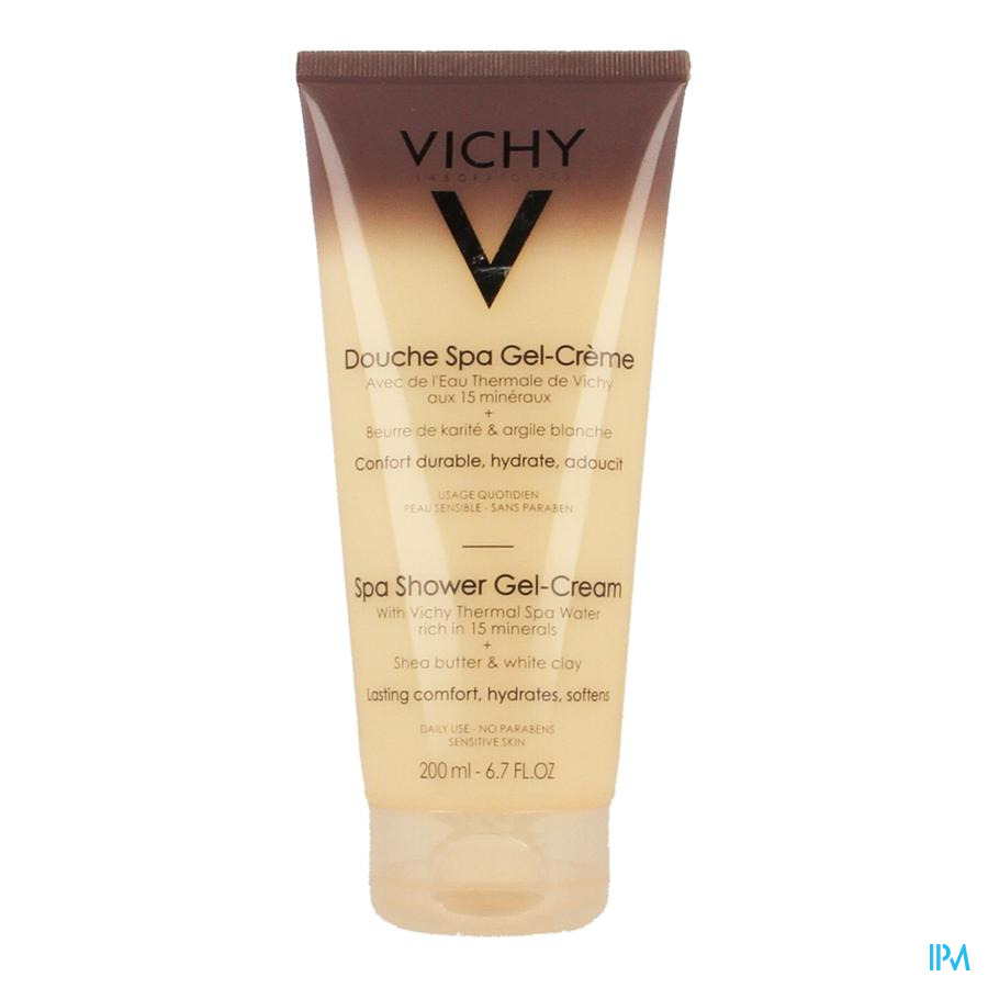Vichy Ideal Body Minerale Douche Gel Creme 200ml