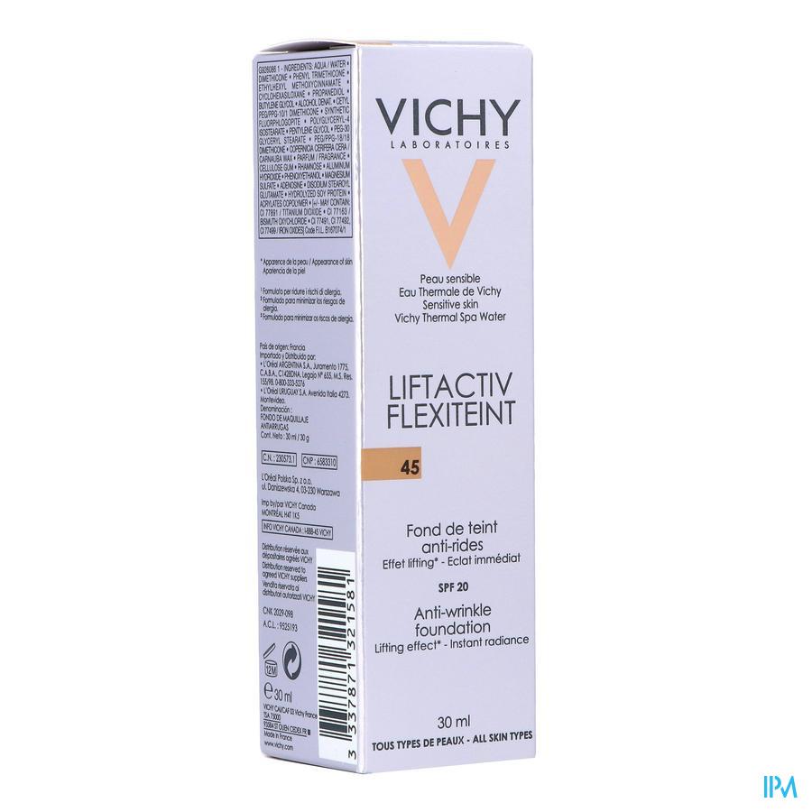 Vichy Fdt Flexilift Teint A/rimpel 45 Gold 30ml