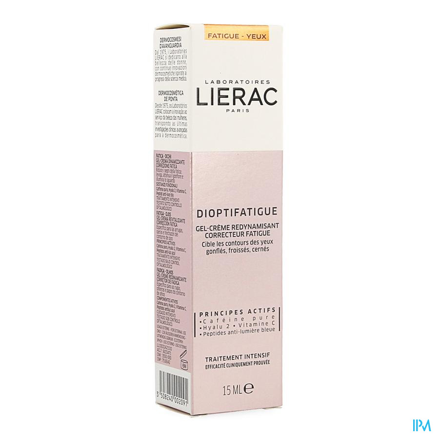 Lierac Dioptifatigue Tube 15ml