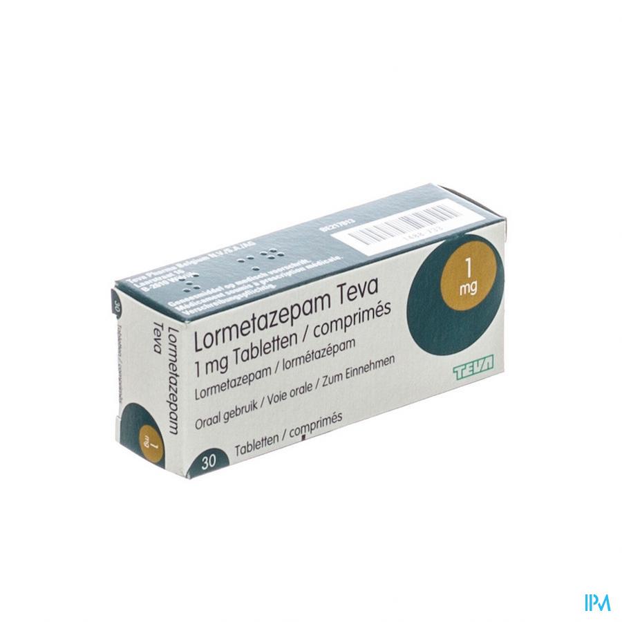 Lormetazepam Teva Tabletten 30 X 1 mg