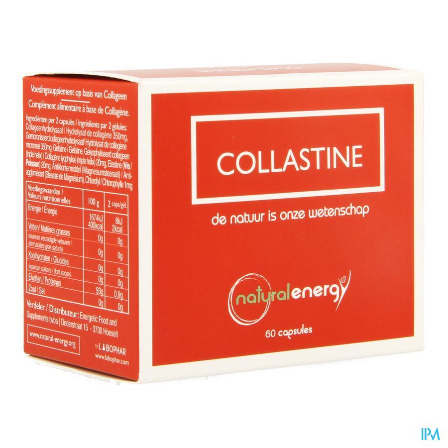 Natural Energy Collastine Caps 60