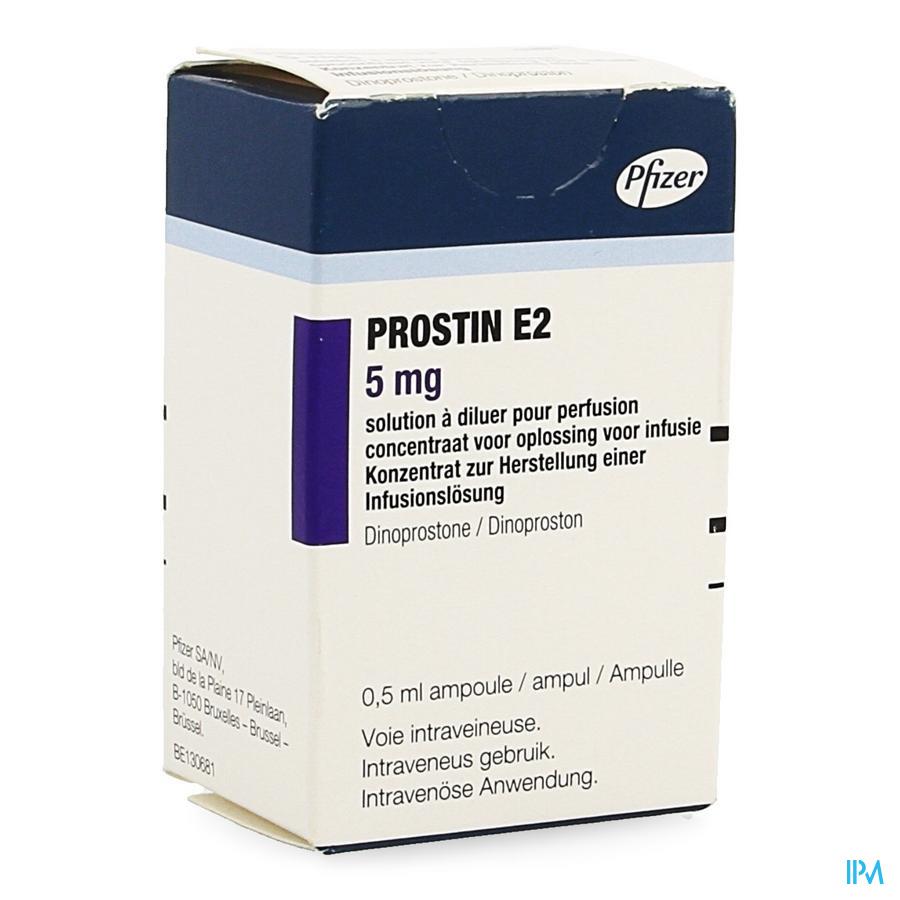 Prostin E2 1 Amp 10mg 0,5ml