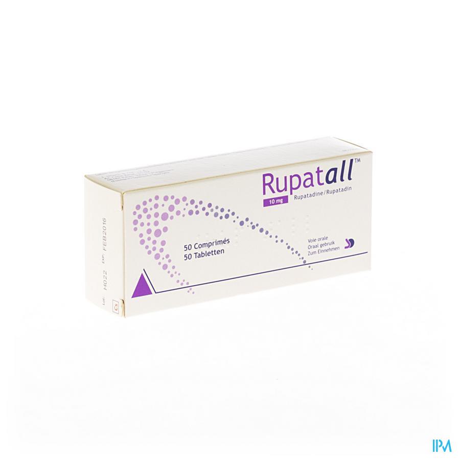 Rupatall 10 mg Comprimés 50