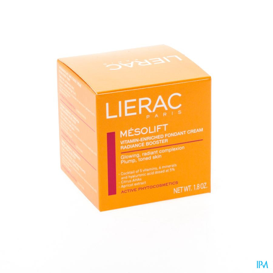Lierac Mesolift Creme A/ageing Effect Pot 50ml