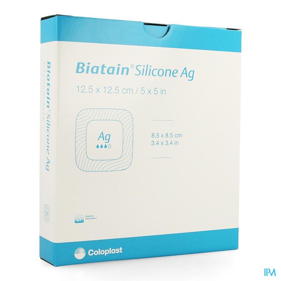 Biatain Silicone Ag 12,5cmx12,5cm 5 39638