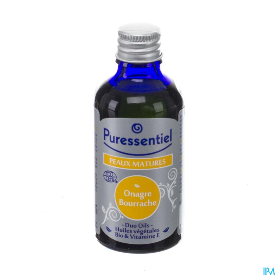 Puressentiel Duo Oil Teunisbloem-bernagie Bio 50ml