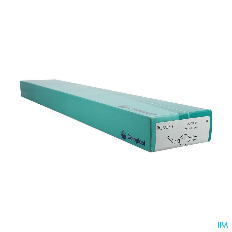 Folysil 2-weg Tie Sil Cath 15ml 40cm Ch18 5