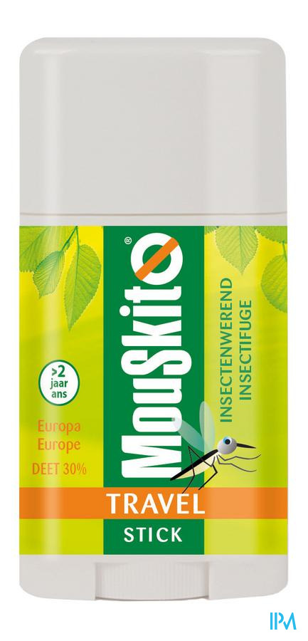 Mouskito Travel Stick Zuid-Europa 30% DEET 40 ml