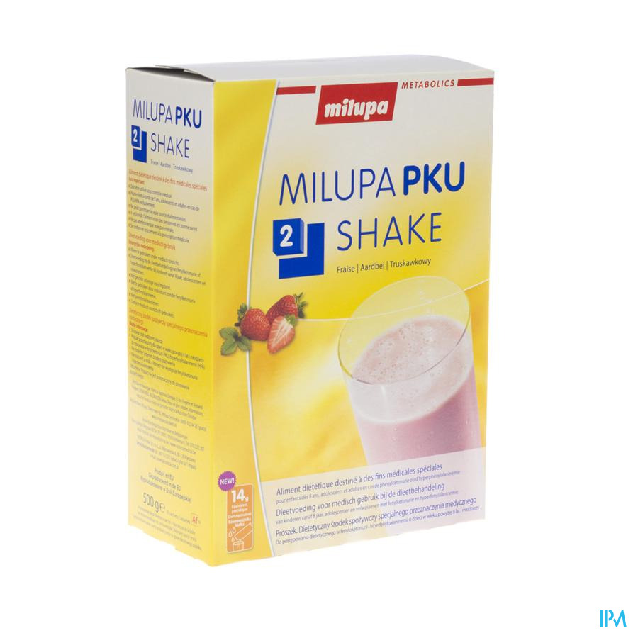 Pku2 Prima Milupa Poudre 500 gr  -  Nutricia